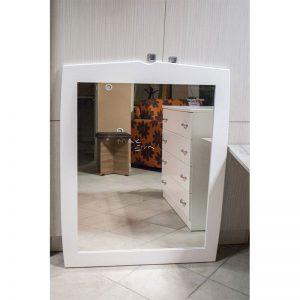 Καθρέπτης Λάκα Λευκή 81x103