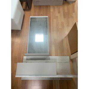Έπιπλο εισόδου κρεμαστό με καθρέφτη Δίχρωμο