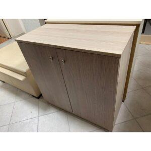 Παπουτσοθήκη φυσικό με 2 πόρτες 82x39x84