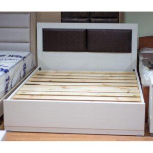 Κρεβάτι διπλό με ταμπλά 142x205x94 με στρώμα και τάβλες