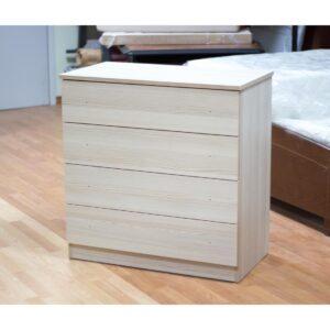Συρταριέρα μελαμίνης 82x44x84 σε χρώμα φυσικό